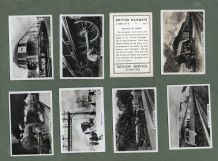 Collctable Cigarette cards British Railways 1938 complete set of 48 photo